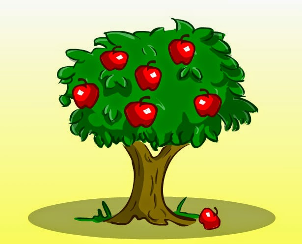 قصة شجرة التفاحة الأنانية
