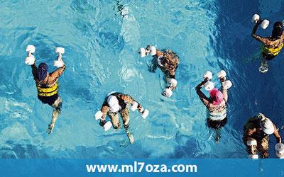 رياضة الجري علي الماء